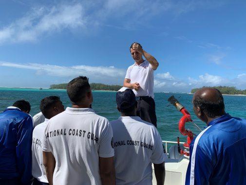 Fire Rescue Boat Mauritius, JGH Marine
