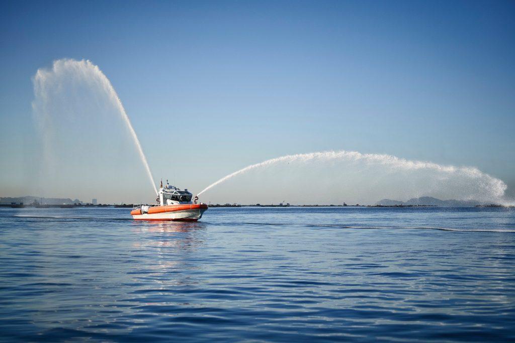 Fire rescue boat, JGH Marine