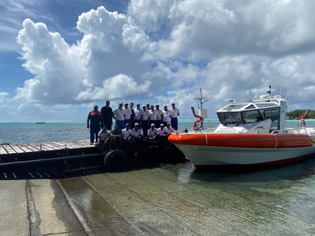 Fire Rescue Boat, Mauritius, JGH Marine