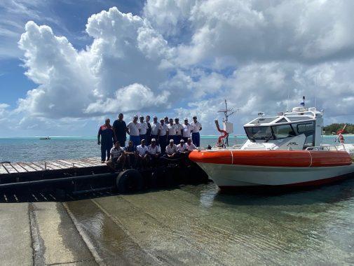 Fir Rescue Boat, Mauritius, JGH Marine