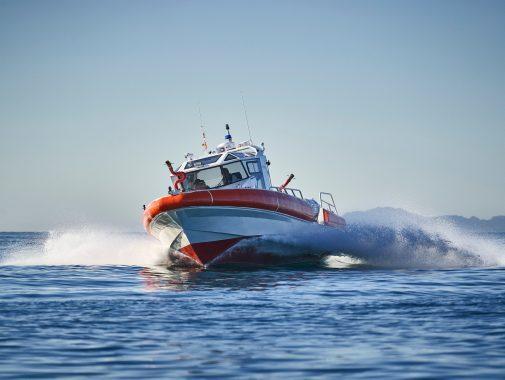 Rescue fire boat, JGH Marine, Mauritius