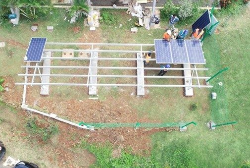 JGH Solar renewable energy installations in Dominica