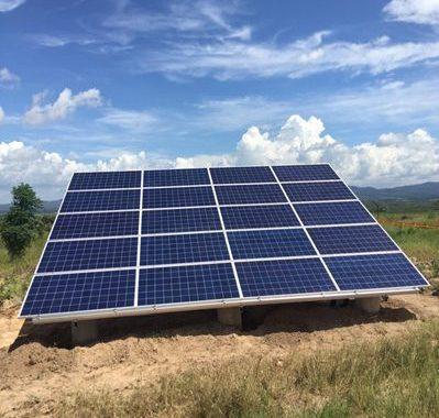 640 solar systems in Zimbabwe